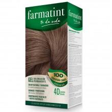 Tinte 4d Castaño Dorado FTT Gel | Farmatint | 60 ml | Tinte Castaño Dorado