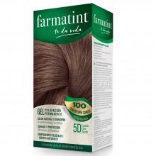 Tinte 5d Castaño claro dorado FTT Gel | Farmatint | 60 ml | Tinte Castaño Claro Dorado