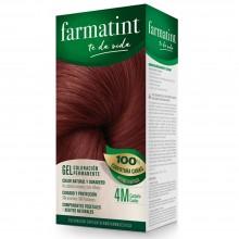 Tinte 4m castaño caoba FTT Gel | Farmatint | 60 ml | Tinte Castaño Caoba