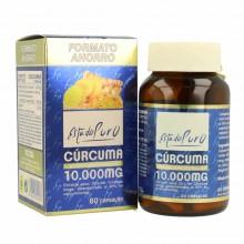 CÚRCUMA 10.000 mg | Estado Puro | Tongil | 80 Cáp. | Mejora la función del sistema nervioso, a la salud del hígado, pulmones
