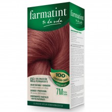 Tinte 7m Rubio Caoba FTT Gel | Farmatint | 60 ml | Tinte Rubio Caoba