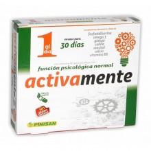 Activamente | Pinisan | 30 cáps de 430 mg | Mente