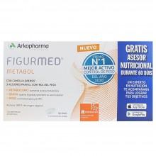 Figurmed Metabol | Arkopharma | 30 comp. 1350 mg | Control de peso - Grasa abdominal y brazos