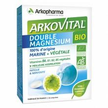 Arkovital Doble Magnesio BIO – 30 | Arkopharma | 30 Comp. 400 mg | Vitaminas y minerales - Bienestar articular