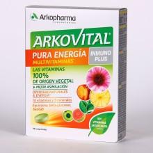 Arkovital Pura Energía Inmunoplus – 30 | Arkopharma | 30 Comp. 300mg | Vitaminas y minerales - Sistema inmune