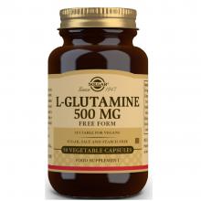 L-Glutamina | Solgar | 50 Caps. Vegetales 500 mgr. | mantenimiento muscular