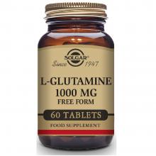 L-Glutamina | Solgar | 60 Comps. 1000 mgr. | mantenimiento muscular