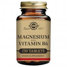 Magnesio + Vitamina B6   Solgar   250 Comps. 400/25 mgr.   Fatiga – energia