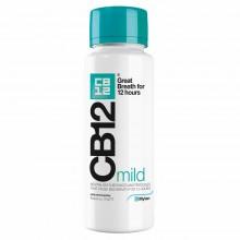 CB12 Colutorio Mild - Suave | Viatris | 250ml - 12H | Fórmula Patentada Clínicamente | Enjuague que Neutraliza el Mal Aliento
