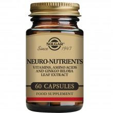 Neuro Nutrientes | Solgar | 60 Cáps. Veg | Sistema Nervioso - Función Psicológica