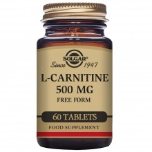L - Carnitina | Solgar | 60 comp. de 500 mgr. | Energia muscular