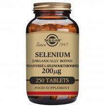 Selenio | Solgar | 250 comps. De 200 µgr | sist. Inmune – piel – uñas
