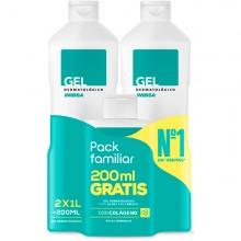 Gel dermatológico Pack Viaje | Inibsa | 2200 ml | Calma la piel