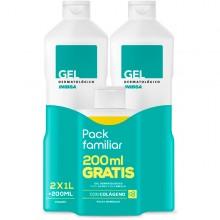 Gel dermatológico Pack + Champu | Inibsa | 2200 ml | Calma la piel