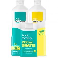 Gel dermatológico + Multicereales + Viaje | Inibsa | 2200 ml | Calma la piel