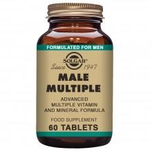 Male Múltiple | Solgar | 60 Comps de 400 mgr. | Multivitaminico – energia – cansancio