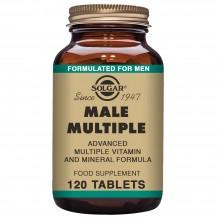 Male Múltiple   Solgar   120 Comps de 400 mgr.   Multivitaminico – energia – cansancio