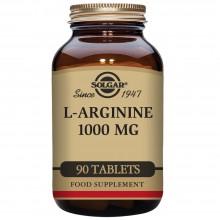 L - Arginina   Solgar   90 Comps de 1000 mgr.   desarrollo muscular