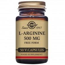 L - Arginina   Solgar   50 Cáps de 500 mgr.   desarrollo muscular