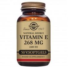 Vitamina E caps. Vegetales | Solgar | 50 Cáps de 268 mgr | Antioxidante - Antiinflamatorio