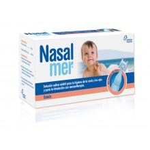 Nasalmer Viales 5 Ml 40 Ud | Nasalmer | 5ml x 40 viales | Agua de mar - Limpiar Nariz y Ojos