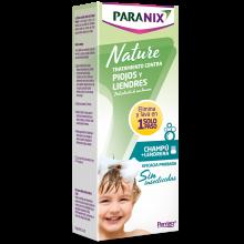 Paranix Nature Champu Sin Insecticidas 200 ml | Paranix | 200 ml | Tratamiento Antipiojos