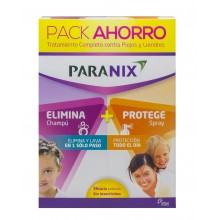 Paranix Pack Elimina2 Chamú + Spray | Paranix | 200ml + 100ml| Tratamiento Antipiojos