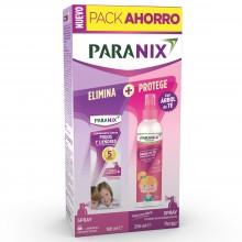 Pack Spray Piojos 100ml + Árbol Té Spray Moldea e Hidrata Niña 250ml | Paranix | 250 ml | Cuidado Infantil del Cabello - Piojos