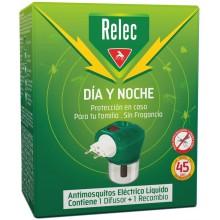 Relec Día y Noche Dispositivo NEW | Relec | 45 días  | Repelente de Insectos