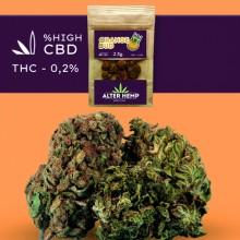 Orange Bud CBD - Alterhemp | 2.5gr | Flores de CBD