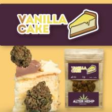 Vainilla Cake CBD - Alterhemp | 2.5gr | Flores de CBD