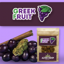 Greek Fruit CBD- Alterhemp | 2.5gr | Flores de CBD