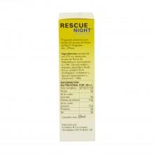 Remedy Night - Rescue Bach | 20 ml. | Vegano | Para un descanso reparador
