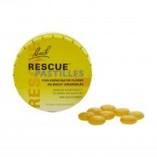 Bach Rescue Pastillas - Marca | Bach Rescue | 50 gr | Sabor naranja y saúco | Para gestionar las emociones