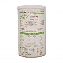 Bebida Vegana Chocolate con Avena y Proteína de Arroz - Nankervis | 450g de polvo | Sustitutivo de una comida