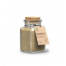 Pimienta blanca molida gourmet ECO 80 grs - Naturcid | Especias