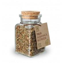 Albahaca tulsi morada gourmet ECO 15 grs - Naturcid | Especias
