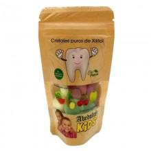 Abedulce Kids - 0% Calorías | Caramelos de xilitol | Bolsa 50 gr | Sabores de frutas - Adiós a la caries