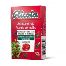 Caramelo Arándano| Ricola | 50 gr | Suaviza la garganta
