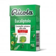 Caramelo Eucalipto| Ricola | 50 gr | Refresca la garganta