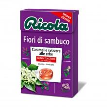 Caramelo Flor de Sauco| Ricola | 50 gr | Refresca la garganta