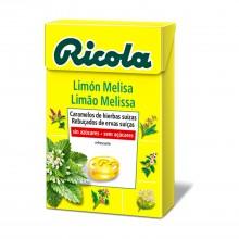 Caramelo Limón y Melisa| Ricola | 50 gr | Refresca la garganta