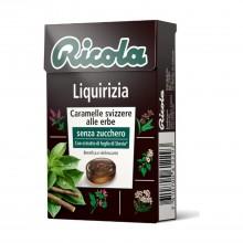Caramelo Regaliz| Ricola | 50 gr | Refresca la garganta