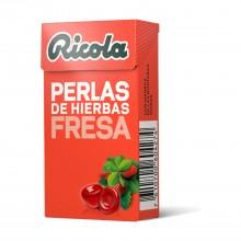 Perlas Fresa| Ricola | 25 gr | Refresca la garganta