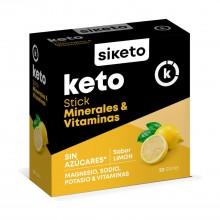 Stick Soluble Minerales y Vitaminas - Siketo   20 uds.   Dieta Keto