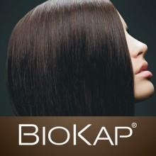 Anti-caída Ampollas Fortificantes | Biokap | 12 x 7 ml | 100% Bio | Fortalece el cabello