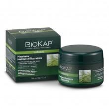 Mascarilla Nutritiva y Reparadora | Biokap | 200 ml | 100% Bio | Cabello seco