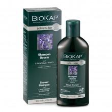 Champú Gel Lavanda Bio | Biokap | 200 ml | 100% Bio | Volumen y brillo