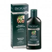 Champú Reequilibrante | Biokap | 200 ml | 100% Bio | Para cabellos grasos