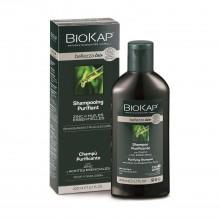 Champú Purificante | Biokap | 200 ml | 100% Bio | Anti-caspa